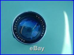 Voigtlander Prominent camera lens Norton 11.5/50mm in excellent condition