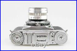 Voigtländer Prominent mit Nokton 1,5 50 mm Syncho Compur 84594