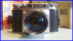 Voigtlander Prominent rangefinder camera with Nokton 11.5 50mm lens