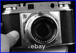 Voigtlander Prominent rangefinder camera with Ultron 50mm f/2 FILM TESTED & CLA