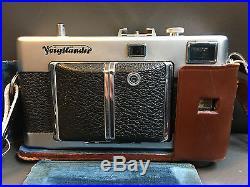 Voigtlander Vitessa 35mm Film Camera with Case and strap