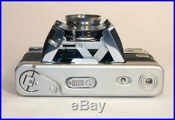 Voigtlander Vitessa L 35mm rangefinder w Skopar 50mm f2.8 Synchro Compur shutter