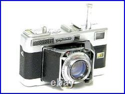 Voigtländer Vitessa L Objektiv Ultron 12/50 Sucherkamera mit original Tasche