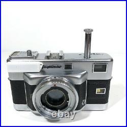 Voigtlander Vitessa T 35mm German Rangefinder Film Camera with50mm f2.8 & Manual