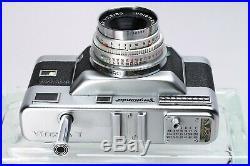 Voigtlander Vitessa T Outfit Color Skopar 50mm F/2.8, Lens Shade, Manual, Case