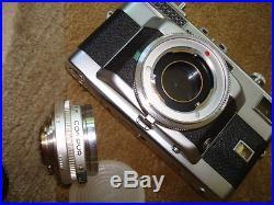 Voigtlander Vitessa T body with3 lens kit