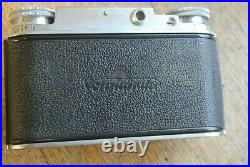 Voigtlander Vito III Folding Rangefinder Camera Ultron 50mm 12 Lens NICE