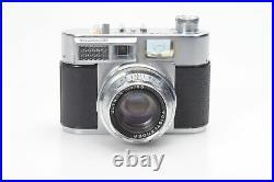 Voigtlander Vitomatic IIa Rangefinder Film Camera (50mm f2 Ultron, 1/500th) #042