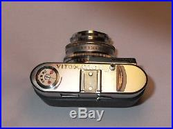 Voigtländer Vitomatic IIa Ultron F2 lens 1/2 case front working needsServicing