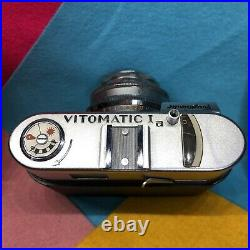 Voigtlander Vitomatic Ia with Color Skopar lens! Rare Film Tested! Working Lomo