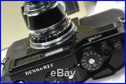 Voigtlander rangefinder BESSA R2S HELIAR 50mm 3,5 unused, MINT CONDITION, boxed