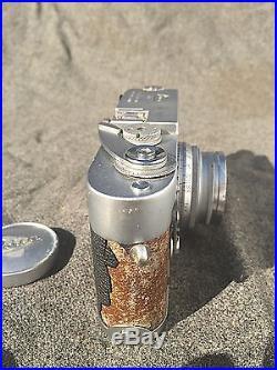 Vtg. #1061389 Leica M2 35 mm Camera with F 3.5 Summaron Lens & MR Meter Works NoR