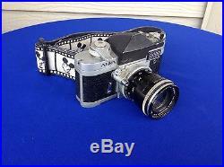 Vtg 1960's ALPA 6C 35mm Reflex Camera With Kern Macro Switar Lens Switzerland