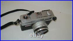 Vtg Canon Canonet QL17 GIII 35mm Rangefinder Film Camera with 40mm F1.7 Prime Lens