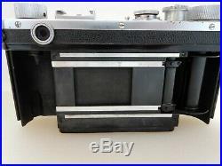 Vtg Nikon S Rangefinder Camera, Nikkor SC 5cm f/1.4 Needs CLA