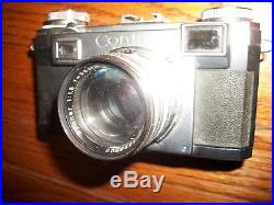 Vtg. Zeiss Ikon Contax Camera with Sonnar 50mm 11.5 Lens Carl Zeiss/Estate Find