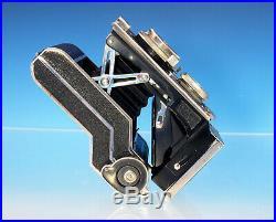 Welta Perfekta vintage camera Carl Zeiss Jena Tessar 3.8/7,5cm Kamera (31169)