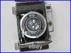 Welta Weltur, Rare Rangefinder 6x6 Film Camera with Zeiss Tessar 7.5cm Lens, Works