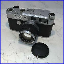 YASHICA YF Nicca Vintage Rangefinder Camera C. 1950's