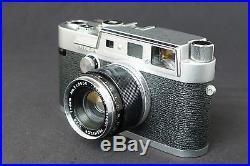 Yashica YF Rangefinder Camera with Yashinon 50mm f/2.8 Lens, Nice