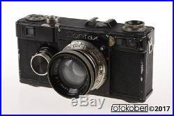 ZEISS CONTAX I mit Sonnar 5cm f/2,0 SNr 64451