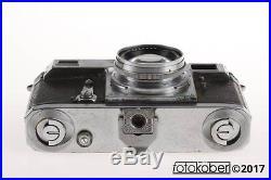 ZEISS CONTAX II mit Sonnar 5cm f/2,0 SNr Z50387