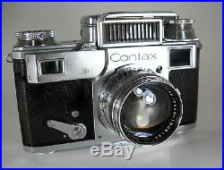 ZEISS IKON CONTAX III WITH JENA-SONNAR 5cm f/1.5 LENS