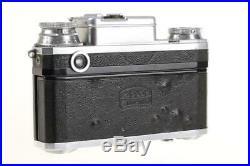 ZEISS IKON CONTAX III mit Sonnar 5cm f/1,5 SNr D56607