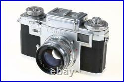 ZEISS IKON CONTAX IIIa mit Sonnar 50mm f/2,0 T SNr A57827