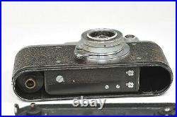 ZORKI 1 rangefinder camera with Industar-22 50mm f3.5 red Pi, based on Leica