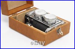 Zeiss Ikon Contaflex TLR w. Sonnar 1.5/5cm & Box & Case