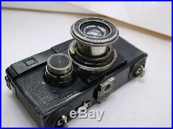 Zeiss Ikon Contax I 35mm Film Rangefinder Camera Lens Tessar Jena