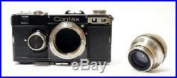 Zeiss Ikon Contax IF Rangefinder C1935/6 Sonnar F2/5cm Original Case 4F