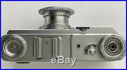 Zeiss Ikon Contax II 35 mm Rangefinder A-G Dresden Tessar 12.8 f = 5 cm