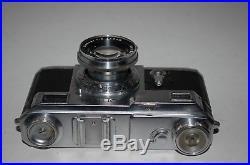 Zeiss Ikon Contax-II Pre War Rangefinder Camera & Case. 1937. D56885. UK Sale