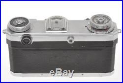 Zeiss Ikon Contax IIA II A RF camera with 50/1.5 Sonnar, need a service