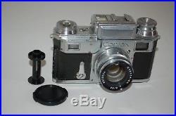 Zeiss Ikon Contax-III Pre War Rangefinder Camera & Lens. 1938. G6285. UK Sale