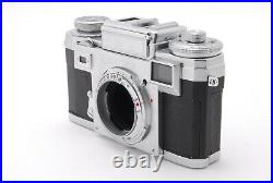 Zeiss Ikon Contax IIIA Color Dial Range Finder with Sonnar 50mm f/1.5 #458