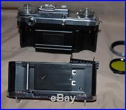 Zeiss Ikon Contax IIIA Rangefinder Camera Opton Sonnar f11.5 f=50mm Lens A58900