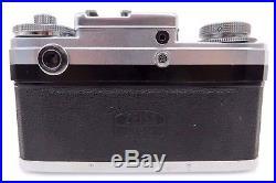 Zeiss Ikon Contax IIIa 26795 Carl Zeiss Sonnar 1,5/50 mm 1443185 Tasche ow057