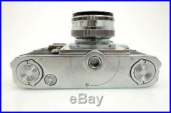 Zeiss Ikon Contax IIIa Color Dial RF D82075 Sonnar 50mm f1,5 1440686 jw071