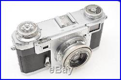 Zeiss Ikon Contax IIa 35mm Film Rangefinder Camera w Tessar 50mm F3.5 T Lens