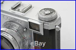 Zeiss Ikon Contax IIa mit Sonnar 12 f=5cm T mit Tasche