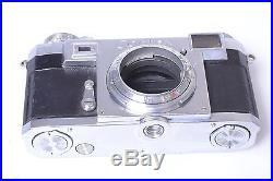 Zeiss Ikon Contax Iia Color Dial 35mm Rangefinder Camera