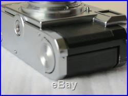 Zeiss Ikon Contax Iia Rangefinder Film Camera Sonnar 50mm F1.5 Lens Overhauled