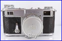 Zeiss Ikon Contax ll Range Finder Camera + 5cm Sonnar Jena F2 Lens. NICE1