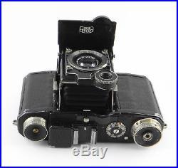 Zeiss Ikon SUPER NETTEL 536/24 mit Triotar 13.5 f=5cm Germany 1936-1939