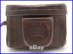 Zeiss Ikon Tenax Carl Zeiss Tessar 2,8/4 cm mit Tasche J89099 td022