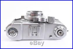 Zeiss Ikon Tenax II 35mm Rangefinder Camera With Sonnar 4cm f/2 Lens WORKS V10