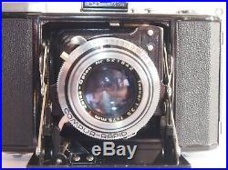 Zeiss Ikonta B (521/16) 6x6cm, Tessar-Opton T 75mm f3.5 lens, Compur-Rapid, case
